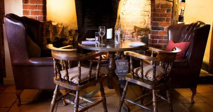 Interior of the Eyston Arms Oxfordshire